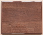 walnut piano finish plaque