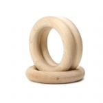wood gymnasics rings